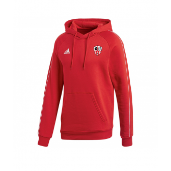 Sweat Adidas Rouge à capuche